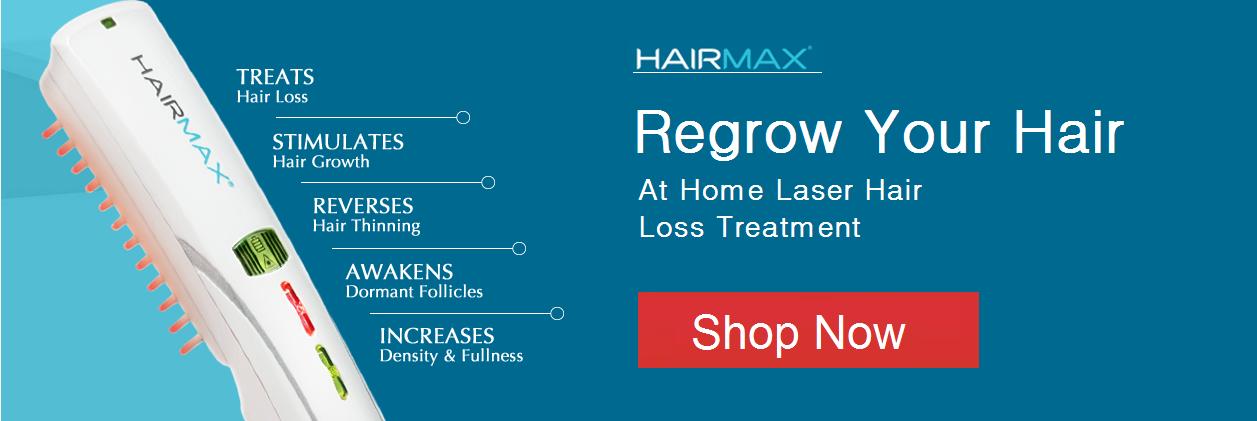 HairMax LaserComb Banner
